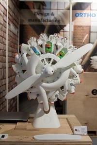 Additive Manufacturing und Luftfahrt treiben sich derzeit gegenseitig an: Ausstellungsstück auf der Inside 3D Printing.