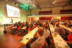 Volles Haus bei der Premiere: Rund 1.100 Fachleute und Entscheider besuchten die Inside 3D Printing